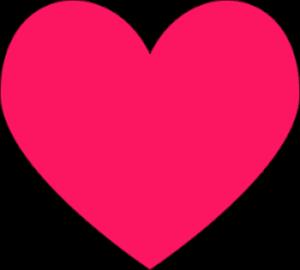 dark-pink-heart